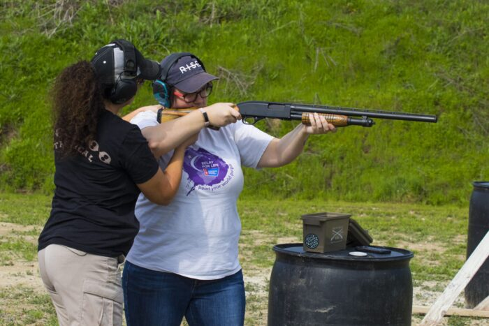 Ladies Beginner Shotgun